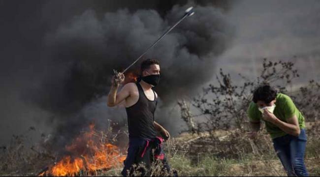 قطاع غزة: إصابات في مواجهات مع قوات الاحتلال