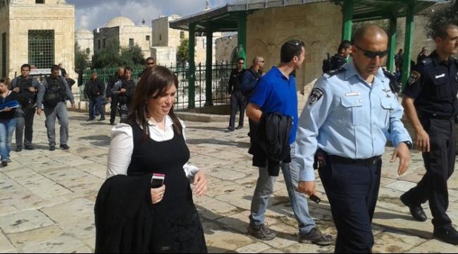 حوطوفلي تدعو لرفع العلم الإسرائيلي في الحرم المقدسي