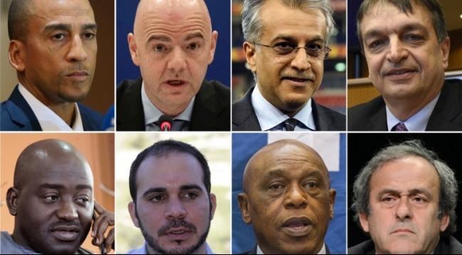8 مرشحين لخلافة بلاتر في رئاسة الفيفا