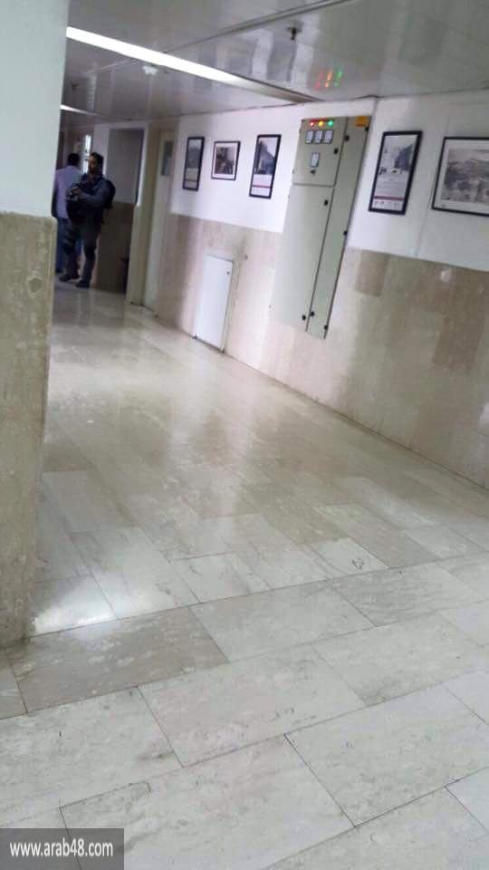 القدس: الاحتلال يقتحم مشفى المقاصد بحثا عن ملف مصاب
