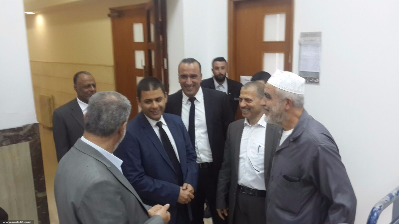 المحكمة تقرر سجن الشيخ رائد صلاح بتاريخ 15.11.2015