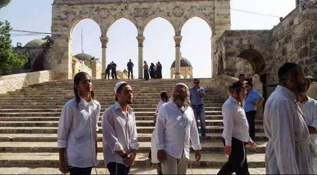 المستوطنون يجددون اقتحامهم للمسجد الأقصى