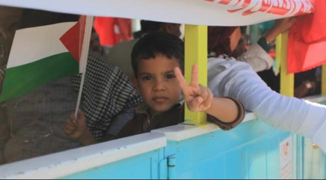 قطار الحرية يجوب تونس تحيّةً لفلسطين