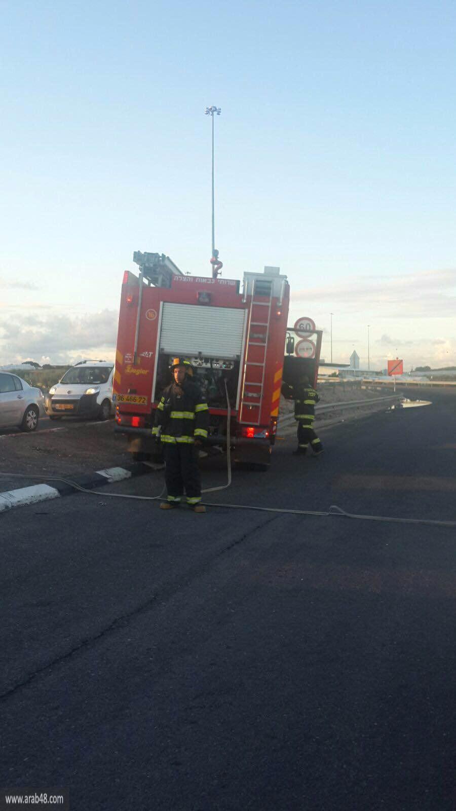 إصابة 16 في حادث طرق بالقرب من باقة الغربية