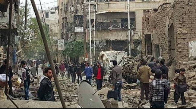 سورية: عشرات القتلى في قصف صاروخي استهدف دوما