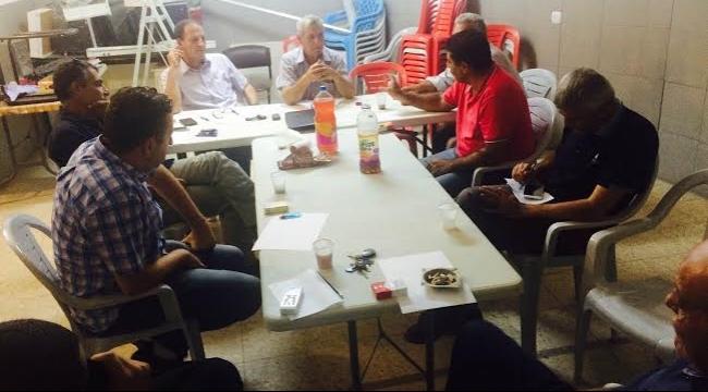 أم الفحم: الشعبية تناقش القضايا الملحة وتستنكر حملة الاعتقالات