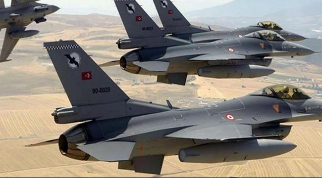 مقاتلات تركية تقصف أهدافا في سوريا