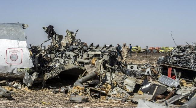 فرضيات تحطم الطائرة الروسية في سيناء