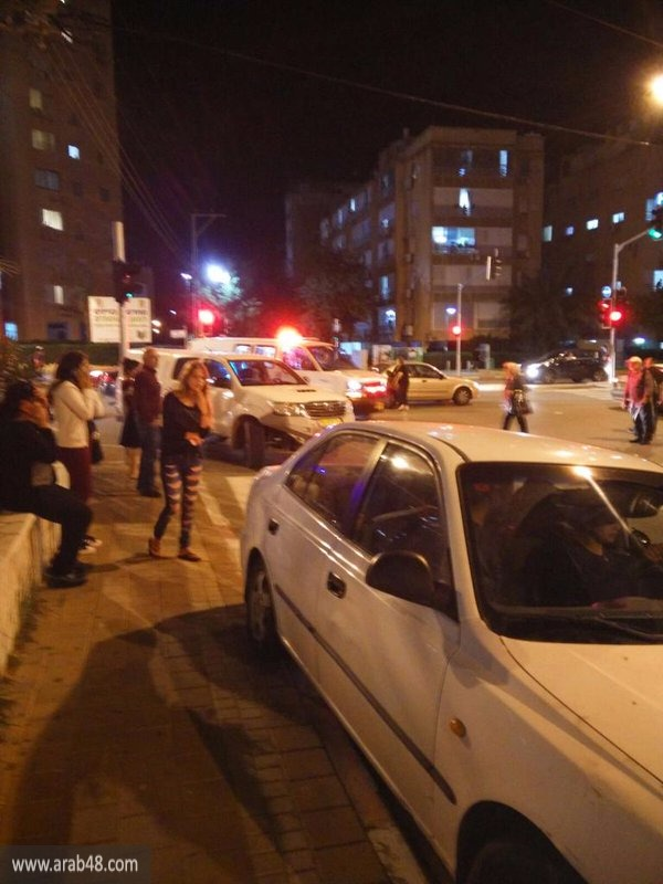 (فيديو) نتانيا: إطلاق النار على فلسطيني بعد طعنه إسرائيليا