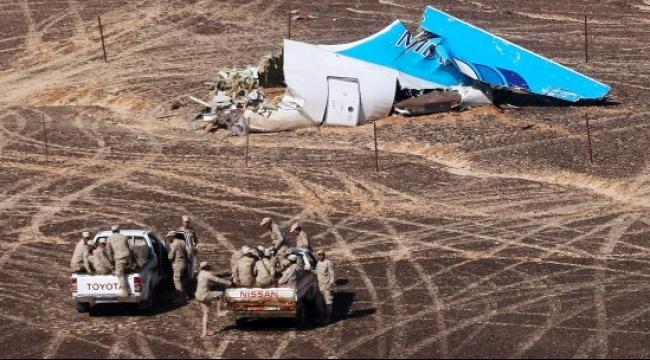 استبعاد تعرض الطائرة الروسية لهجوم خارجي