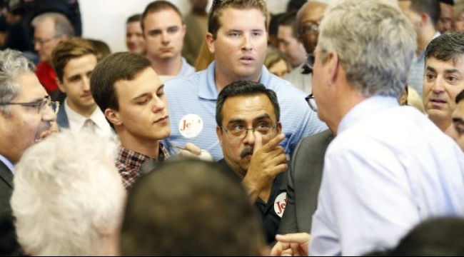 بوش لترامب: لن أنحدر لمستواك