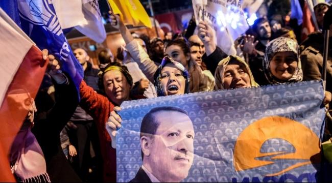 أردوغان: الشعب التركي اختار وحدته وسيادته