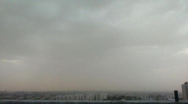 أمطار وحلية وتلوث جوي بدرجة عالية