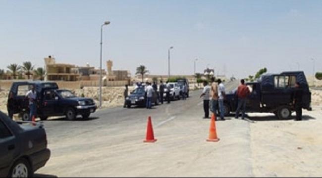 سيناء: قتلى وإصابات في انفجار مفخخة استهدفت الشرطة