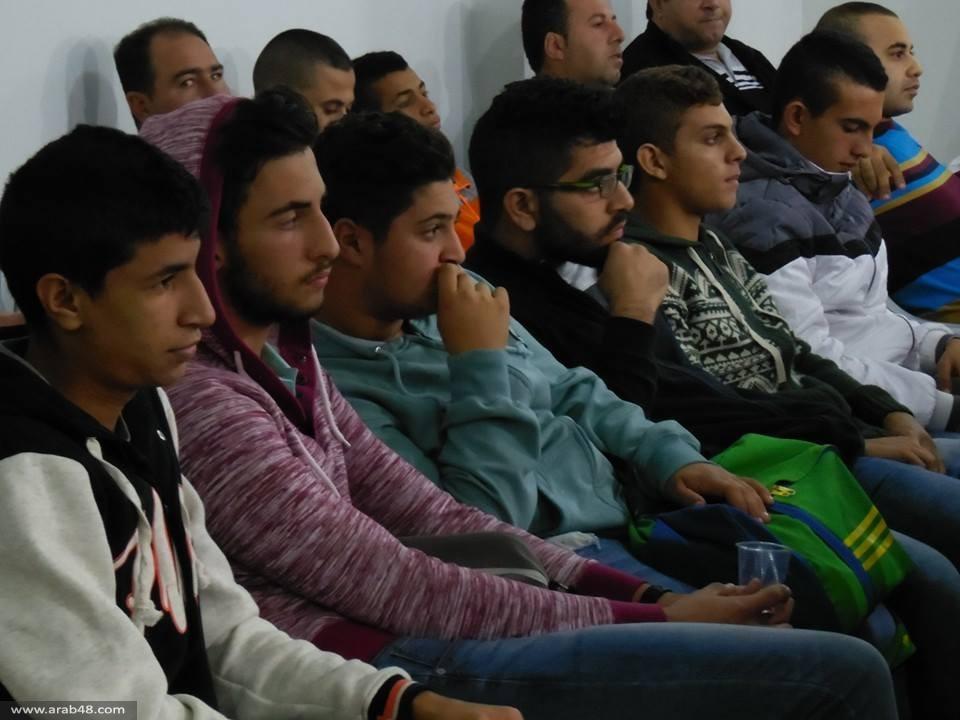 كفر كنا: العشرات يشاركون في لقاء حول هبة القدس