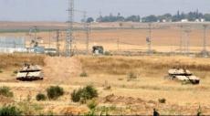 آليات الاحتلال تتوغل شرق خان يونس
