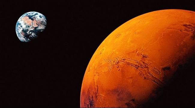 عاصفة شمسية هي السبب في انعدام الحياة على المريخ