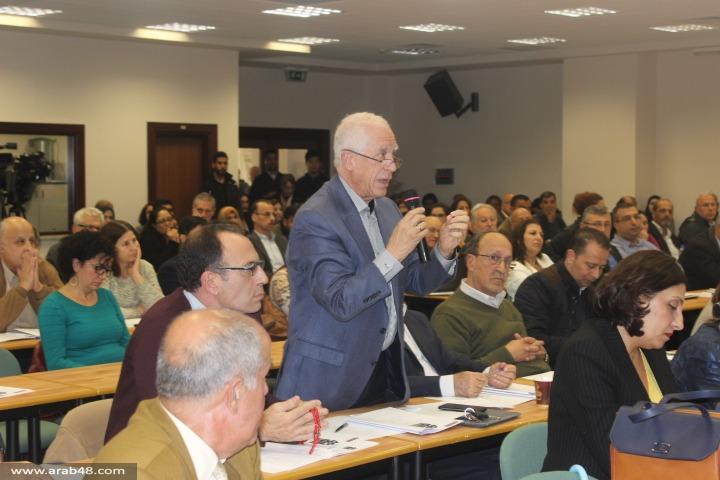 دور فلسطينيي الداخل في المشروع الوطني في مؤتمر بيرزيت
