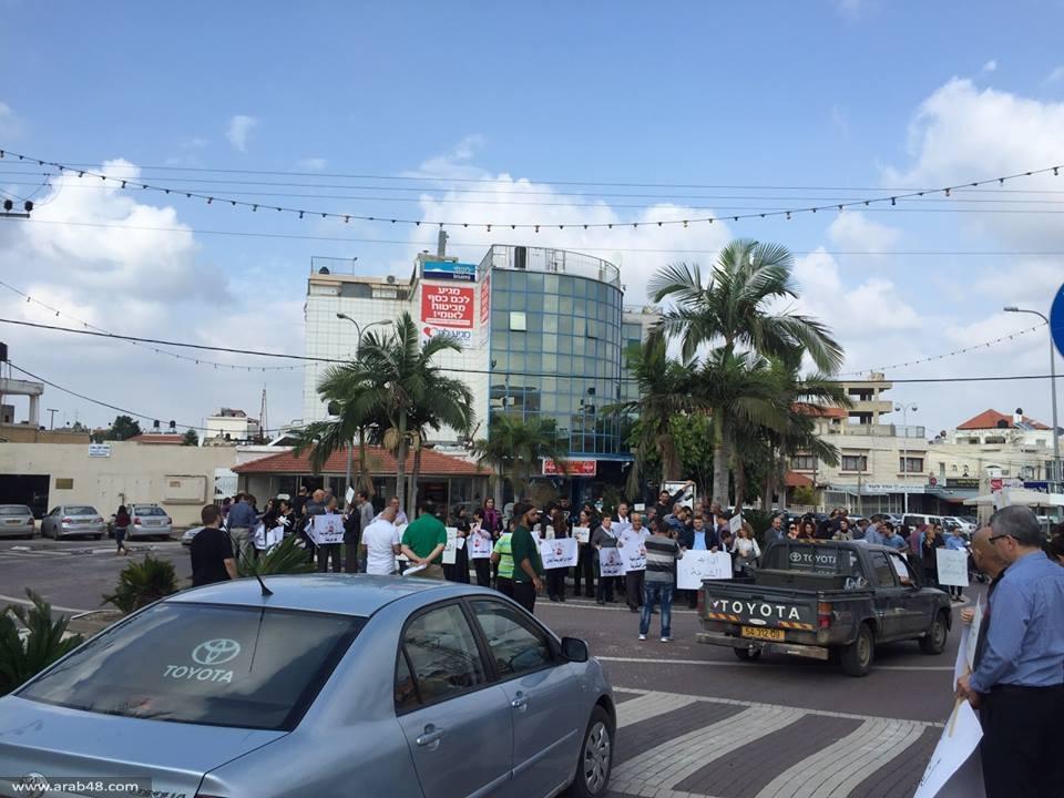 الطيرة: تظاهرة ضد جرائم قتل النساء تتحول إلى مسيرة