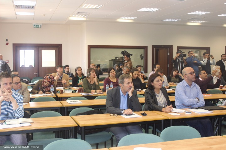 """اختتام اليوم الثاني من مؤتمر """"دور فلسطينيي الداخل في المشروع الوطني"""""""