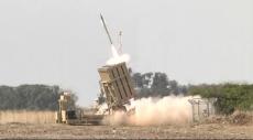 القبة الحديدية أطلقت صاروخًا بسبب إطلاق نار من أسلحة خفيفة