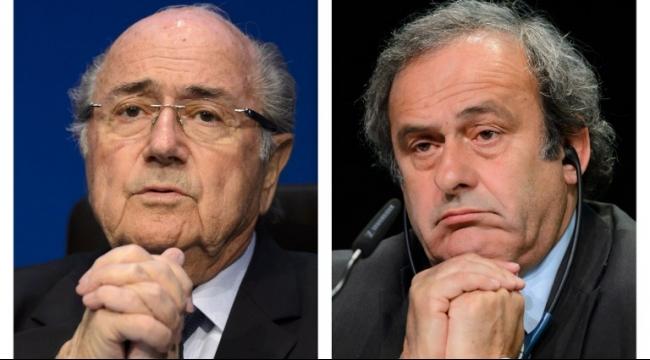 رفض استئناف بلاتر وبلاتيني ضد قرار إيقافهما