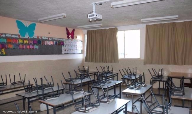 عكا: المدارس تلتزم بالإضراب باستثناء التيراسنطة