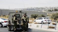 إصابة جندي بجراح طفيفة بعد دهسه على حاجز أبو ديس