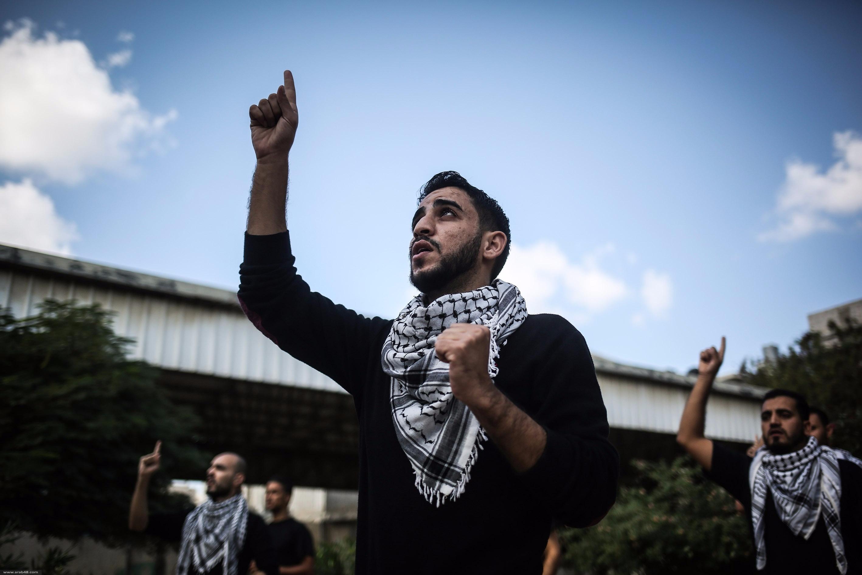 غزّة: أغان وطنيّة بلغة الإشارة لأول مرّة