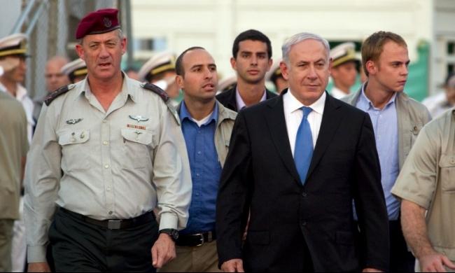 استطلاع: غانتس يتفوق على نتنياهو