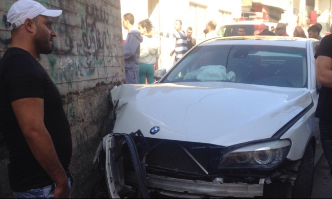 إصابتان متوسطتان بحادث ذاتي في دير الأسد