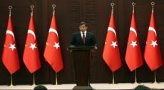 داود أوغلو: من واجب تركيا الدفاع عن حدودها