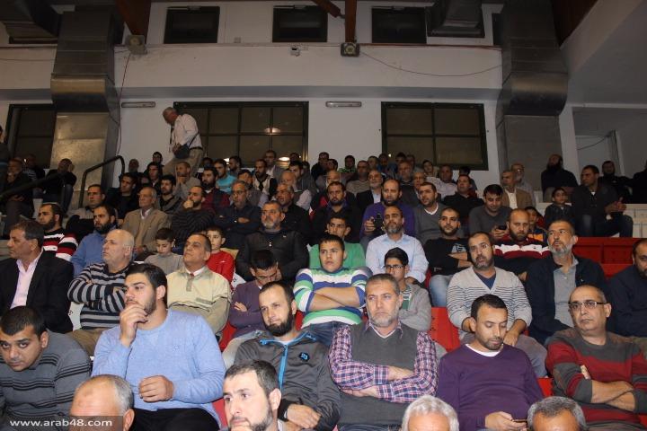 سخنين: مهرجان احتجاجي نصرة للحركة الإسلامية الشمالية