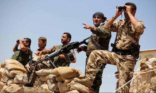 """عسكريون أميركيون بسوريا لدعم الأكراد ضد """"داعش"""""""