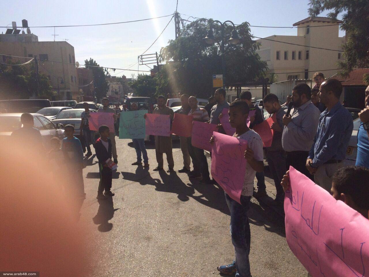 جسر الزرقاء: وقفة احتجاجية على حظر الحركة الإسلامية