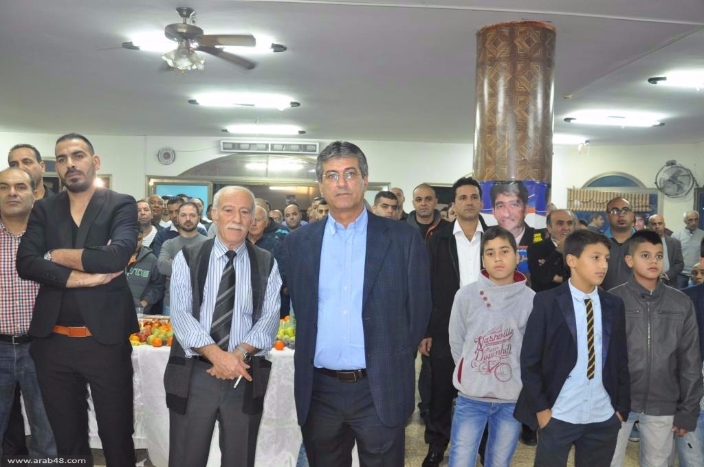 باقة وجت: وفود المهنئين تبارك للرئيسين أبو مخ ووتد
