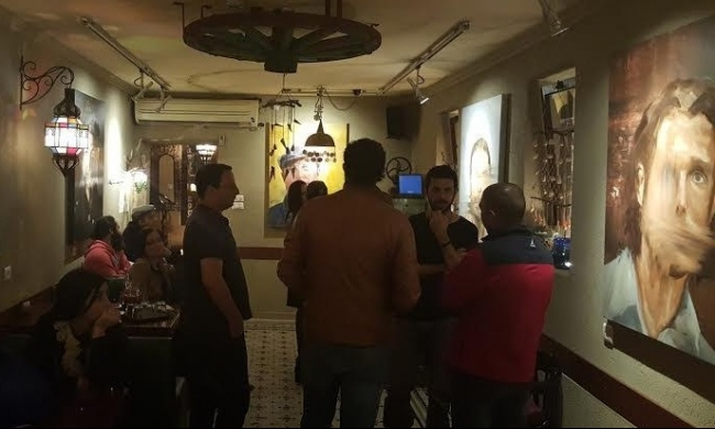 """حيفا: معرض """"تشويه"""" لعصام دراوشة في جاليري فتوش"""