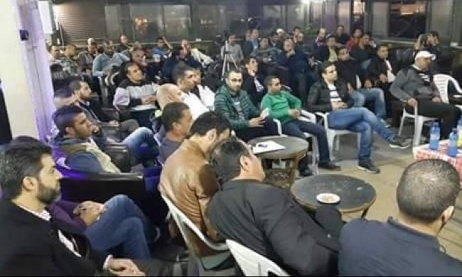 كفر كنا: أمسية شبابية حول حظر الحركة الإسلامية