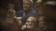 مصر: إلغاء حكم الإعدام بحق مرشد الإخوان وآخرين