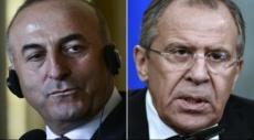 وزيرا الخارجية الروسي والتركي يلتقيان في بلغراد