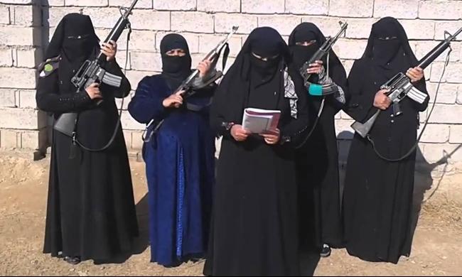 700 امرأة تونسية في صفوف تنظيمات متطرفة في سورية