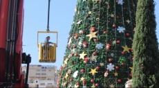 الناصرة تحتفل اليوم بإضاءة شجرة الميلاد