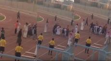 فيديو: مشجع يطعن لاعب ويثير ضجيجاً في السعودية