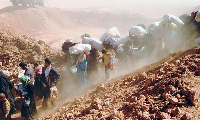 12 ألف لاجئ سوري عالقون على الحدود مع الأردن