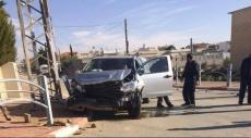 النقب: إصابة 3 أشخاص بحادث بعد مطاردة بوليسية
