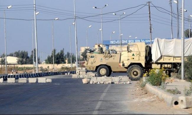 سيناء: مقتل 3 عسكريين في هجوم مسلح على حاجز أمني