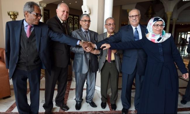تشكيل حكومة وحدة وطنية ليبية في إيطاليا