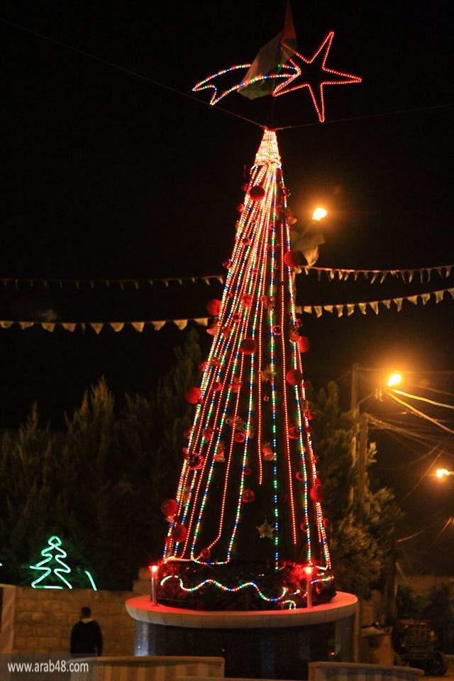 الاحتفال بإضاءة شجرة الميلاد في الزبابدة