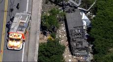 الأرجنتين: مصرع 41 شرطيا في سقوط حافلة عن جسر