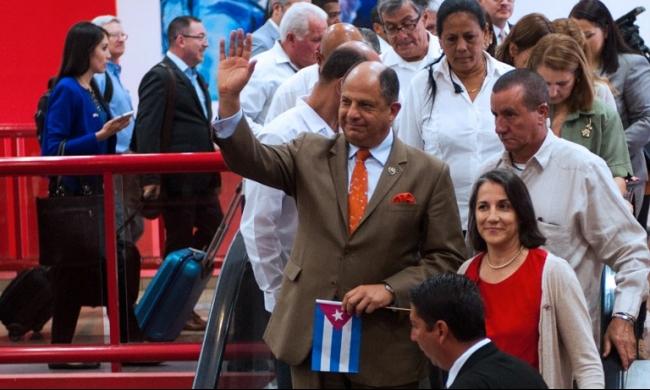 رئيس كوستاريكا يزور كوبا لأول مرة من 72 عامًا